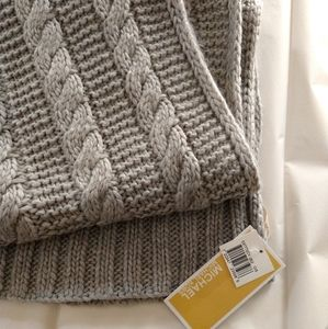 MICHAEL Michael Kors  Patchwork Cable-Knit Muffler